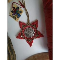 collar estrella flor de la...